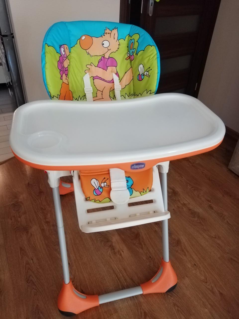 Krzesełko do karmienia Chicco Polly 2w1,