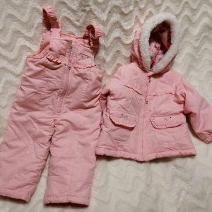 Kombinezon zimowy kurtka spodnie rozmiar 86 92, 1