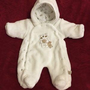 Kombinezon niemowlęcy polar z podszewką rozmiar 68 1