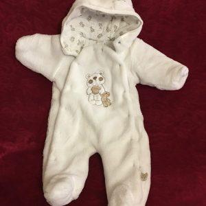 Kombinezon niemowlęcy polarek z podszewką rozmiar 74 1